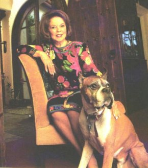 Shirley Temple and her dog Sparky